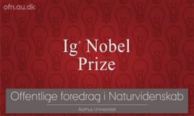 Ig Nobel Prize: first laugh, then think